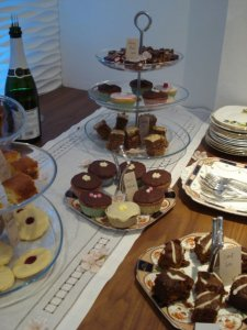 A selection of yummy cakes