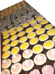 Cupcakes after