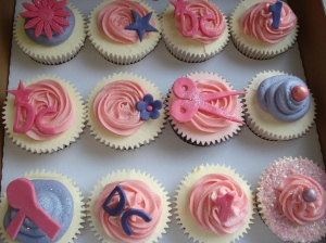 Hairsalon cupcakes