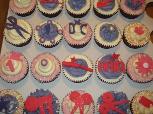 20 hairstyle cupcakes!