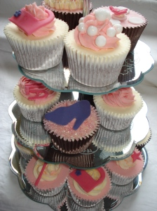6th birthday cupcake tower