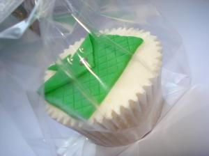 Clutch bag cupcake