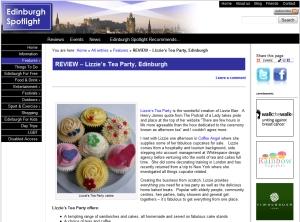 Edinburgh Spotlight Website