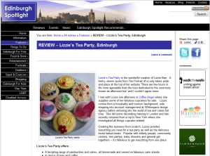 Edinburgh Spotlight Website