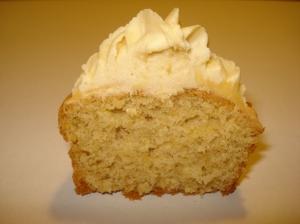 Yummy peanut butter cupcake