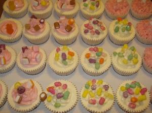 Vanilla sweetie cupcakes