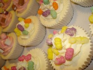 Rainbow Drop cupcakes