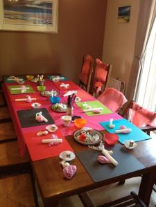 childrens cupcake decorating party