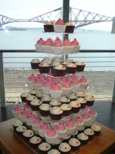Cupcakes and Forth Rail Bridge