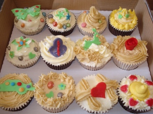Cupcake class creations box 1