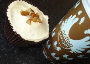 Lizzie's Hummingbird Cupcake