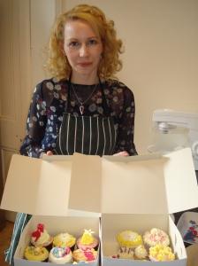 Elaine's cupcake creations