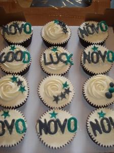 Novo cupcakes