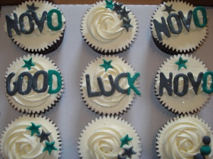 Launch cupcakes