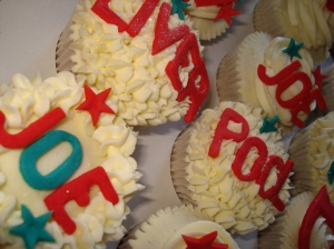 Liverpool cupcakes