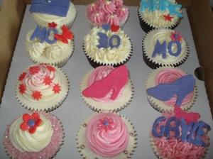 Multi celebration cupcakes