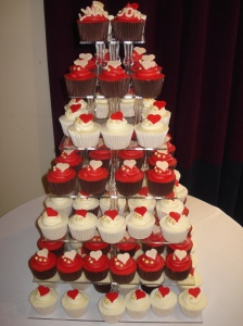 Wonderful wedding cupcakes
