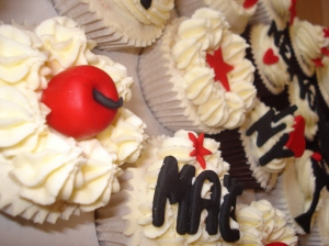 Big Apple cupcakes