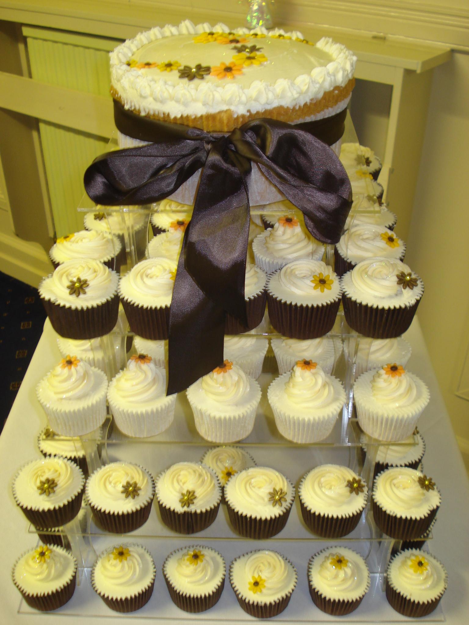 Autumnal Wedding cupcakes – Cakes by Lizzie Edinburgh