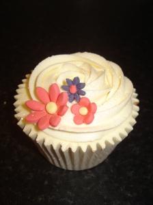 Floral bouquet cupcake