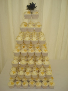 Wedding cupcakes in The Borders, Scotland