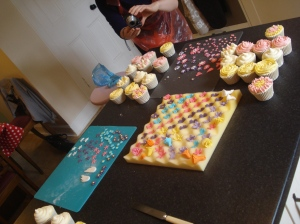 Cupcake classes in action
