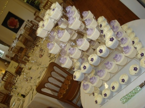 Purple and Lilac Themed Cupcakes
