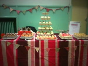 Lizzie's Tea Party Cupcake and Cake Pop Stall