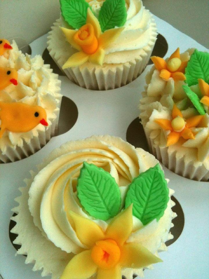 Easter cupcakes by Lizzie's Tea Party
