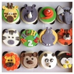 Animal Cupcakes By Lizzie