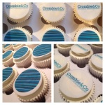 Branded Corporate Cupcakes by Lizzie