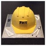 Hard Hat Cake by Lizzie