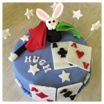 Magician Cake by Lizzie