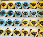 Robot Cupcakes by Lizzie