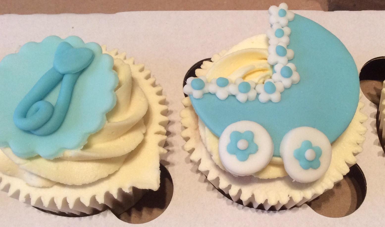 Baby Shower Cakes East Kilbride ~ Baby shower cupcakes u cakes by lizzie edinburgh