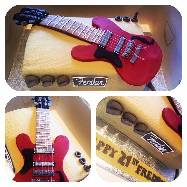 Fender Guitar Amp Cake CAKES BY LIZZIE EDINBURGH