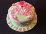Floral Cake by Lizzie