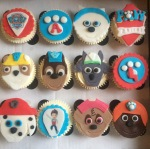 Paw Patrol Cupcakes by Lizzie