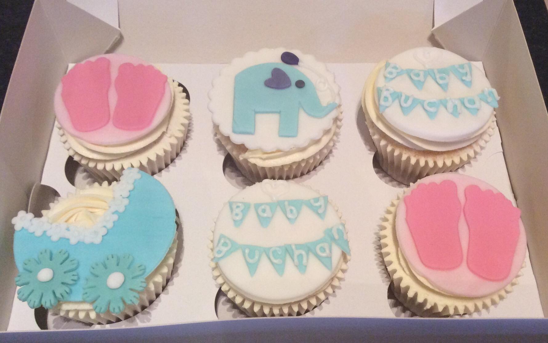 Baby Shower Cakes East Kilbride ~ Baby shower cupcakesu girl or boy u cakes by lizzie edinburgh
