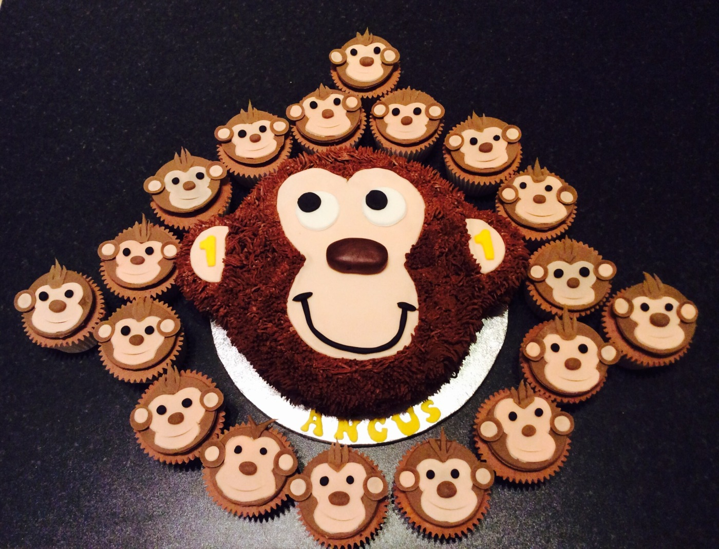 Monkey Cake by Lizzie