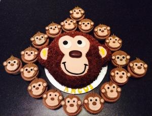 Monkey Cake by Lizzie