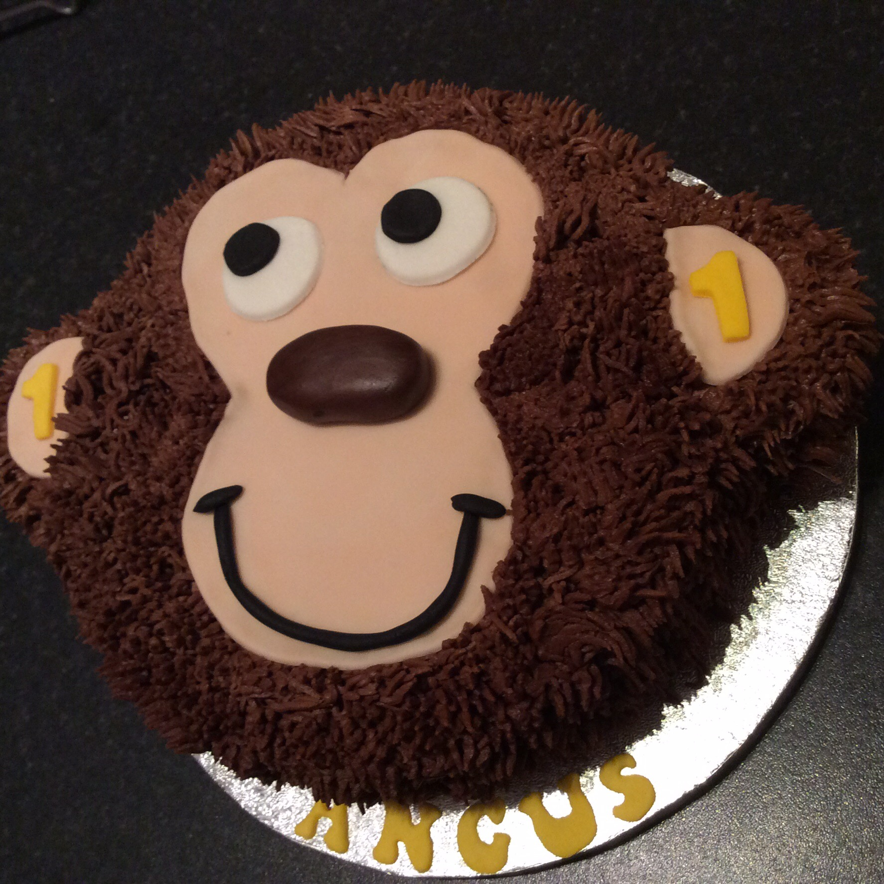 I Love Monkey And The Monkettes Cakes By Lizzie Edinburgh