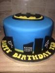 Batman Cake by Lizzie