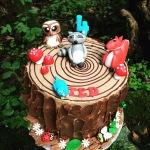 Woodland Cake by Lizzie
