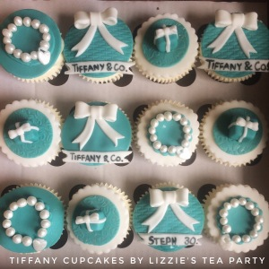 Tiffany cupcakes by Lizzie