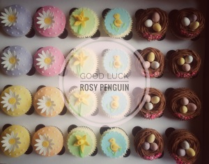 Easter Cupcakes by Lizzie