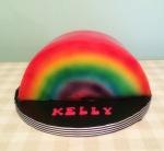 Rainbow Cake by Lizzie