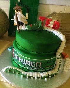 Ninjago Cake by Lizzie